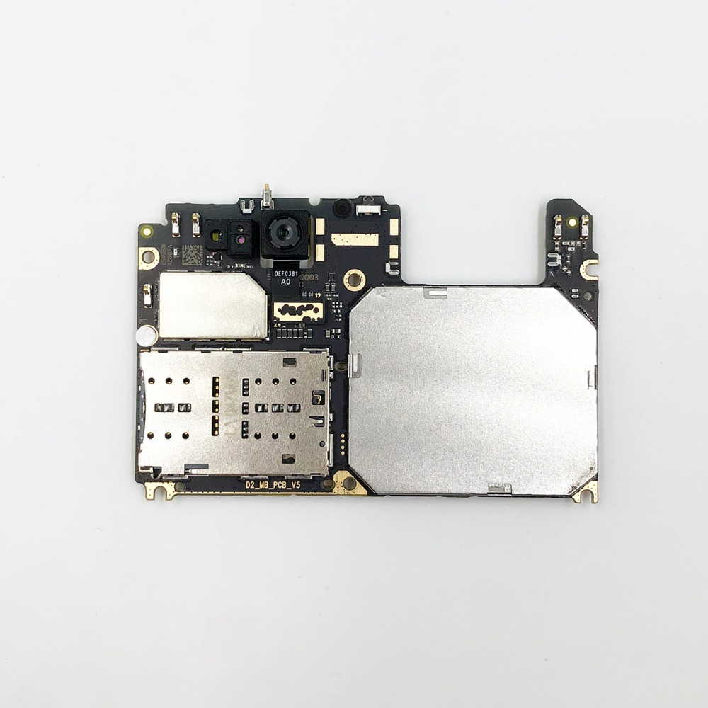 Image 2 - oudini UNLOCKED Original motherboard For xiaomi A1 Motherboard dual simcard 4G RAM 64GB ROM  For xiaomi 5X motherboard-in Mobile Phone Circuits from Cellphones & Telecommunications