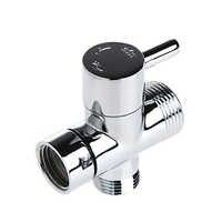 T-adapter 3 Ways Valve For Diverter Bath Toilet Bidet Sprayer Shower Head