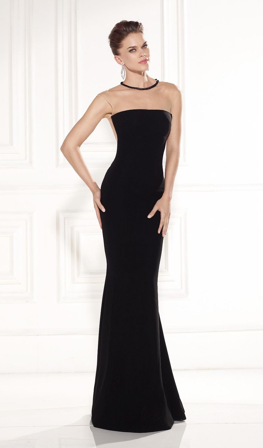 Elegant Black Evening Dresses