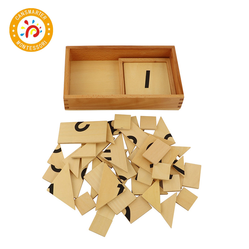 Jouet bébé Montessori Puzzle 1-9 numérique numéro Segmentation numérique avec boîte en bois Puzzle jouets éducation précoce - 2