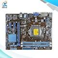 Для Asus H61M-K Оригинальный Используется Для Рабочего Материнская Плата Для Intel H61 Сокет uATX LGA 1155 Для i3 i5 i7 DDR3 16 Г На Продажу