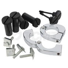 цена на Lower Vented Fairing Quick Release Mounting Hardware Fit For Harley Street Glide Road King 89-13