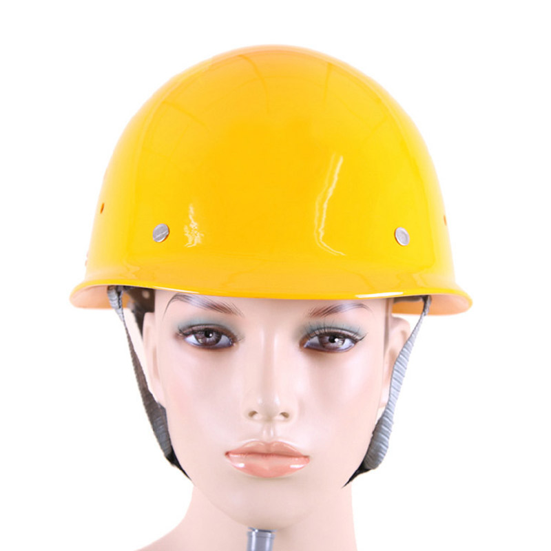 Image 3 - FRP Safety Helmet Construction Protective Helmets Anti smashing Work Cap Breathable Labor Engineering impact resistance Hard Hat-in Safety Helmet from Security & Protection