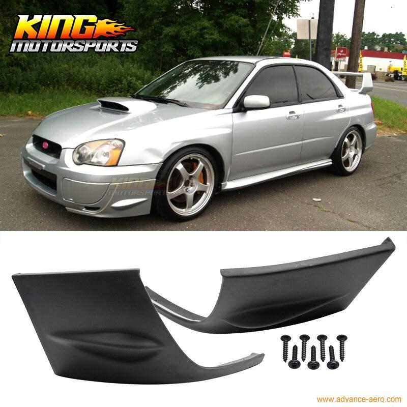Fit For 04-05 Subaru Impreza WRX Front Side Bumper Cover Cap 2PCS 2004 2005