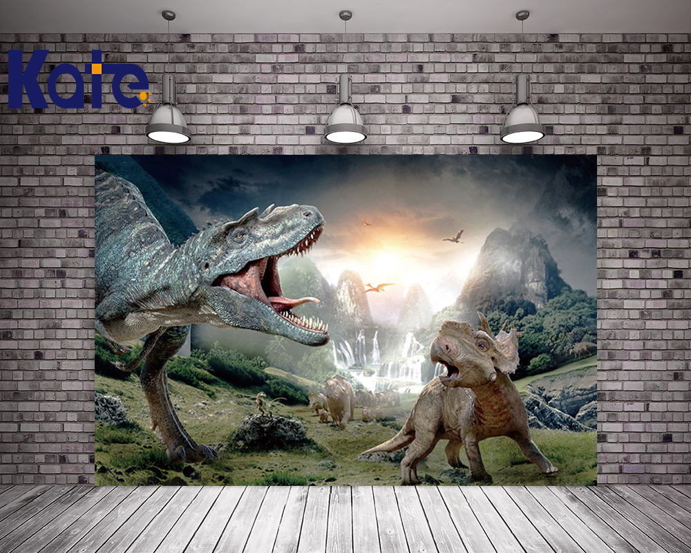 Kate Children Photography Backdrops Forest Dinosaur Backdrop For Children Photo Studio Background велосипед electra cruiser lux 1 2016