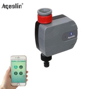 Image 1 - Automatyczny Bluetooth ogród czasowy wyłącznik przepływu wody inteligentny sterownik nawadniania nadaje się do iphone i Android #21066