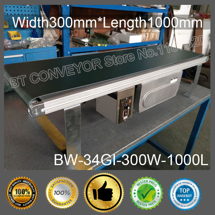 Factory Supply Belt Conveyor 300mm Width * 1000mm 30Kg Loading PVC / PU Belt Constant or Variable Speed Compact Belt Conveyor процессор intel xeon e3 1220v3 3 1ghz 8mb lga1150 oem sr154