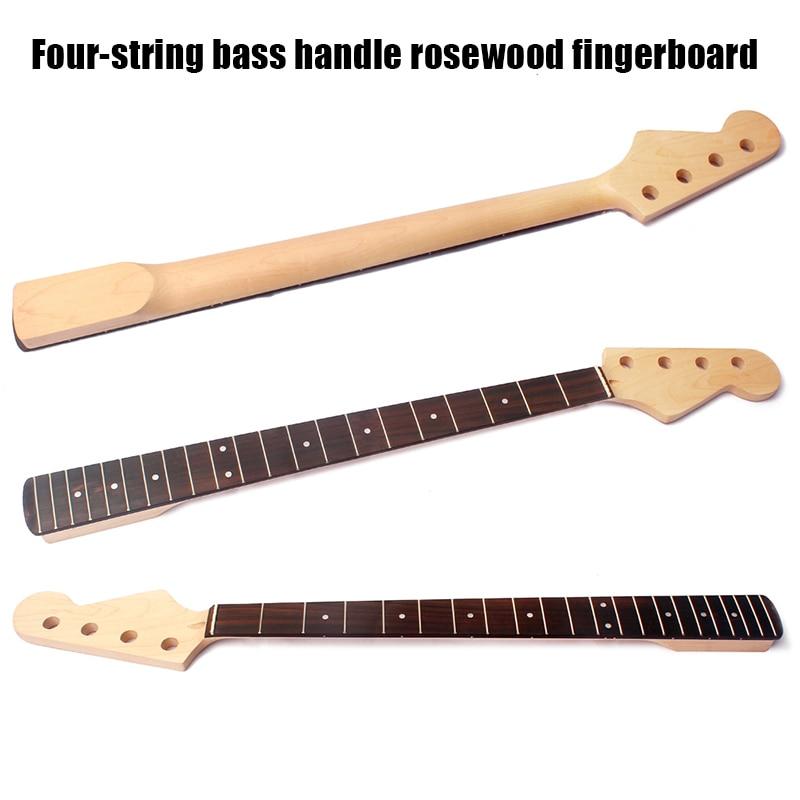 Bass Guitar Neck 4 String 21 Fret Musical Instrument Replacement Accessories XR-Hot