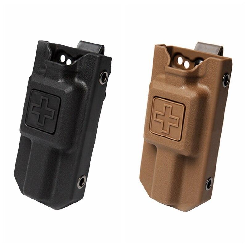 1 PCS Outdoor Tools Hunting Application Tourniquet Case Molle EMT Tourniquet Carrier Pouch Storage Bag Box Holder Case