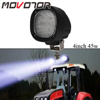 4 Inch 45W HID Shape Led Truck Lights 9 32V Farming Led Work Lights for Boat ATV Mining Machine Cruise light Car Style