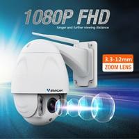 Vstarcam Wireless wifi camera ip CCTV video surveillance Security Cam PTZ IR Dome Outdoor HD 1080P 2.0MP 4X Zoom 2.8-12mm H.264