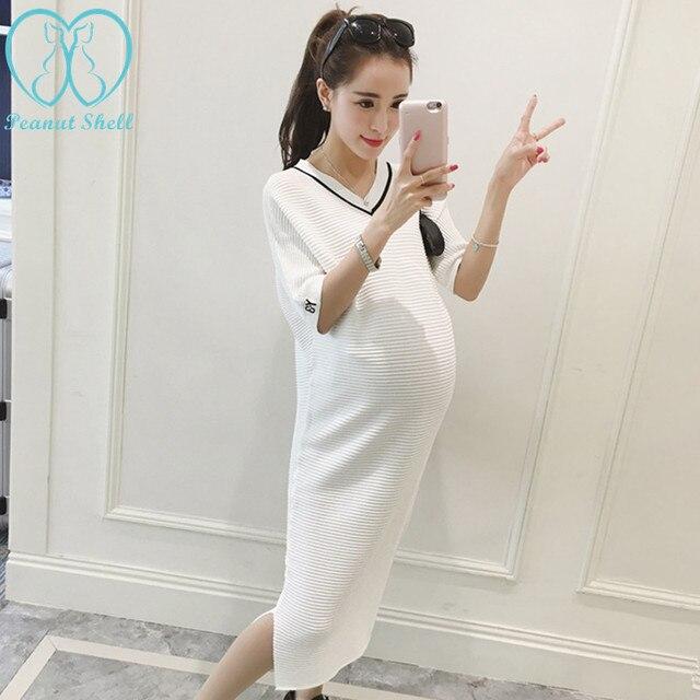 White Summer Maternity Dresses