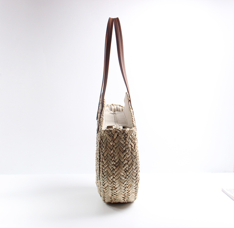 2018 marroquino palma cesta saco feminino mão