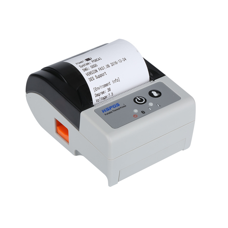 58mm Portable Android Bluetooth Thermal Receipt Printer With Auto Paper Cutter For POS Printing
