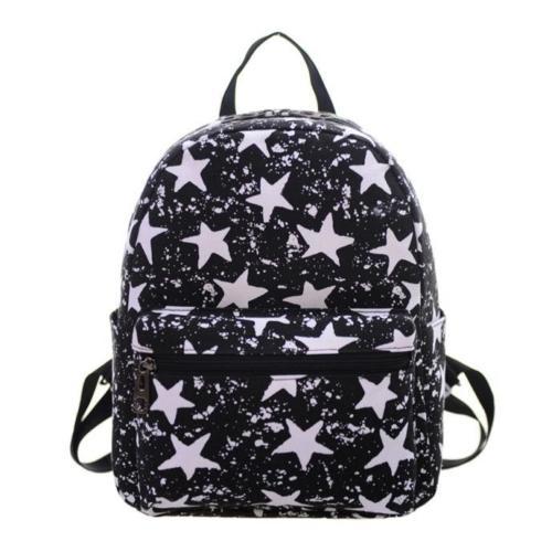 5) texu/Обувь для девочек Для женщин холст школьная сумка Дорожная Рюкзак сумка рюкзак Лот № 9 черный