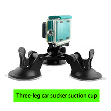 Sport Camera Bobber Low angle Floating Handheld Stick Hand Grip Monopod Three-leg car sucker suction cup for GoPro