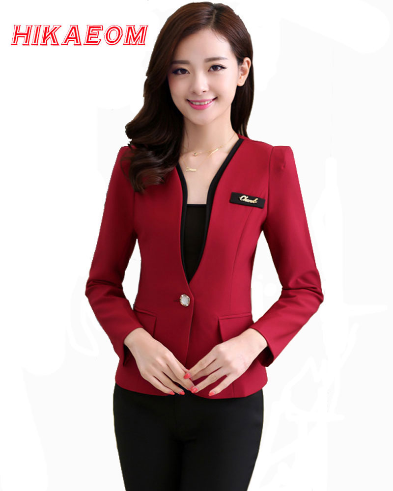 2018 Hot Sale Pantalones Cagados Dame Business Suits Professionel Mode Suit Bukser Two Piece Set Kvinder Formelt Office Work