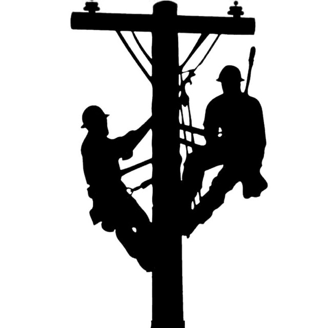 aliexpress com comprar 8 6 cm   14 4 cm liniero linieros Lineman Pole Clip Art Black and White Cutting Tree Clip Art Black and White Lineman