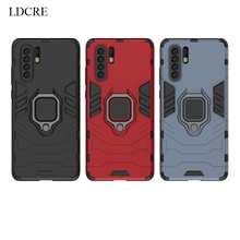 LDCRE For Huawei P30 Pro Case Magnetic Finger Ring Kickstand Hard Phone Huawey Cover Fundas