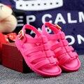 Мини Мелиссы Римские Сандалии Мальчики Девочки Сандалии Flox Melissa Желе Обувь Сандалии Детская Обувь Римские Сандалии Полые Дышащая