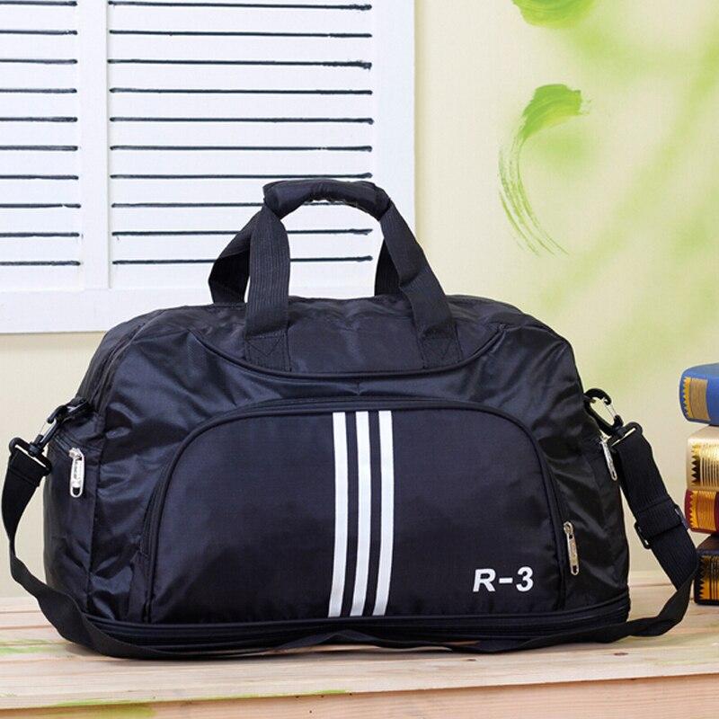 63a9e93749a98 Bolsas de deporte hombres marca gimnasio BagsTravel bolsos bolsa deporte para  hombre del bolso de Duffle Bag Deportivos gimnasio nuevo 2015 llegada en de  en ...