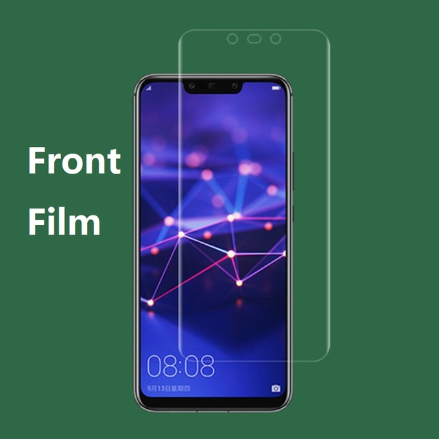 huge selection of ddc06 33240 US $2.36 5% OFF|Front Screen Protector For Huawei Mate 20 Pro 3D Curve Edge  Back Soft Hydrogel Screen Film For Huawei Mate 20 Lite (Not Glass)-in ...