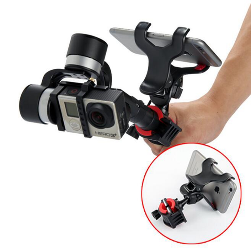 Smartphone Mount Bracket for Z1 Zhiyun Evolution /FY G4/3 Axis Handheld Gimbal Stabilizer Phone Holder GOPRO Gimbal