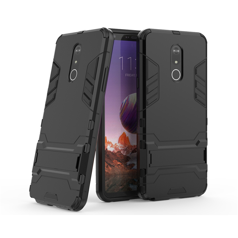 For LG Stylo 5 Case Business Luxury Robot Hard Back Coque Fundas Phone Cover