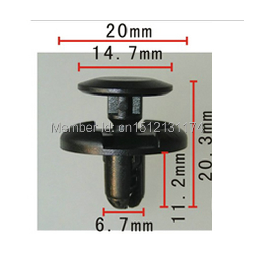 Scion Cars 90467-07164 20 Fastener Clips For Toyota