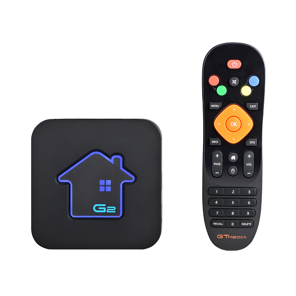 Boîtier TV intelligent GTmedia Android 7.1 Amlogic S905W 2 GBRAM + 16 GBROM décodeur 4 K HD H.265 2.4G lecteur multimédia Wifi boîtier TV IPTV M3U - 5