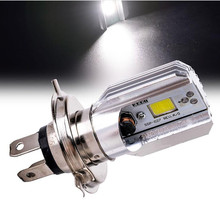 6000K 12v Hs1 h4 Led Motorcycle Scooter Light Bulb Motorbike Headlight Moped Bulbs Moto Accessories