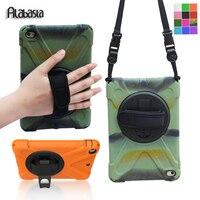 Alabasta For Capa IPad Mini 1 2 3 Case Silicone Pc Stand Protector 360 Degree Rotation