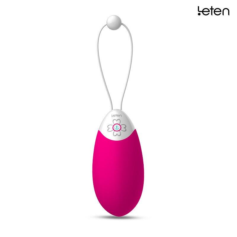 Leten Vibrators for Women Female Sex Console Oneself Organ Cocoa Wireless Remote Control Shock Love Egg Clitoris Taste Articles a taste for love