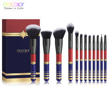 Docolor 12PCS Makeup Brushes Set Professional Brushes for Makeup Synthetic Hair Powder Foundation Eyeshadow Make up Brushes(China)