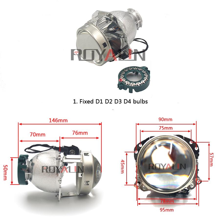 ROYALIN Για προβολείς Hella EVOX 2.0 D2S - Φώτα αυτοκινήτων - Φωτογραφία 3