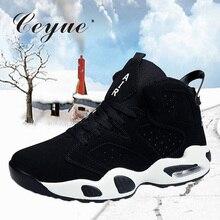 Ceyue для мужчин баскетбольные кеды женщин уличные спортивные кроссовки обувь zapatillas hombre Депортива корзина Homme тренировочный спортивный