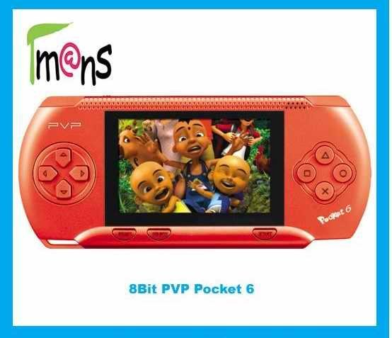 8 Bit digital game system,3.0'' PVP Pocket 6  handheld  video game player,can play on TV
