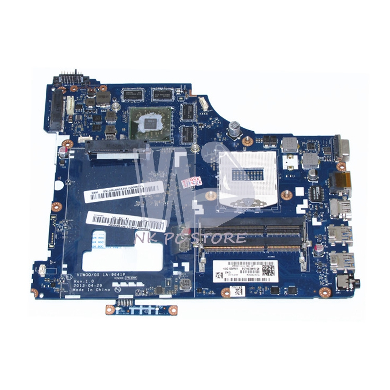 Main Board For Lenovo G510 Laptop Motherboard VIWGQ/GS LA-9641P HM87 PGA947 DDR3L HD8750M 2GB Video Card разъемы и переходники furutech gs 21 p g