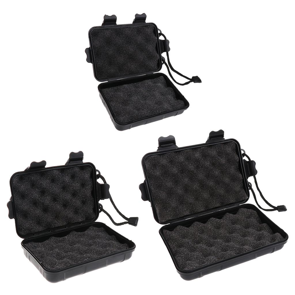 Nice Portable Foam Padded Storage Box Case Container For Carrying Bow Hunting Archery Arrow Heads Tools Flashlights High Safety