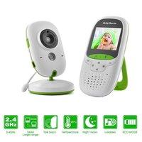 babykam baby fone camara monitor bebe 2.0 inch LCD IR Night Vision Temperature Monitor 8 Lullabies Baby Intercom video babyphone