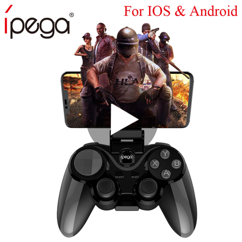 Trigger Bluetooth Joystick For Phone Cell Pubg Mobile Controller Gamepad Game Pad Android iPhone Control PC PABG Smartphone Pugb
