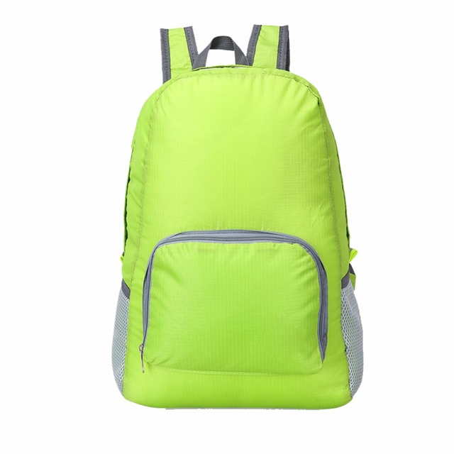 20L Lightweight Foldable Waterproof Backpack Women Men Skin Pack Outdoor Sports Camping Hiking Travel Nylon Bag Rucksack 4 Color 1