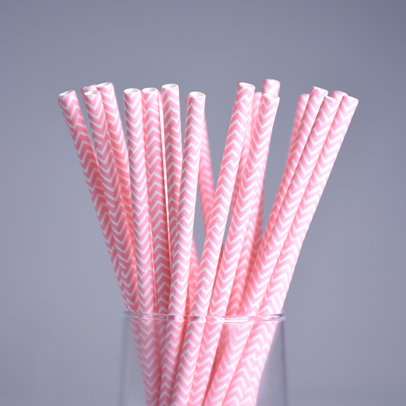 decorative straws for weddings aliexpress buy 25pcs lot pink wavy paper 3463