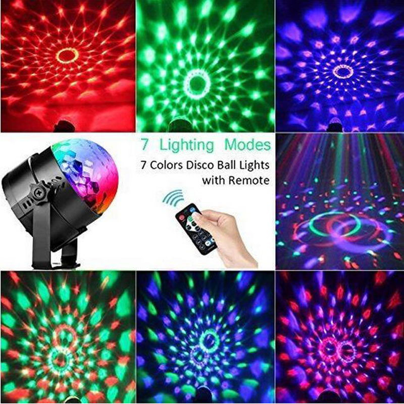 Lights & Lighting Commercial Lighting Creative Dropshipping Projector Christmas Light Effect Party Music Lamp Led Stage Light Disco Lights Dj Disco Ball Sound Activated Laser