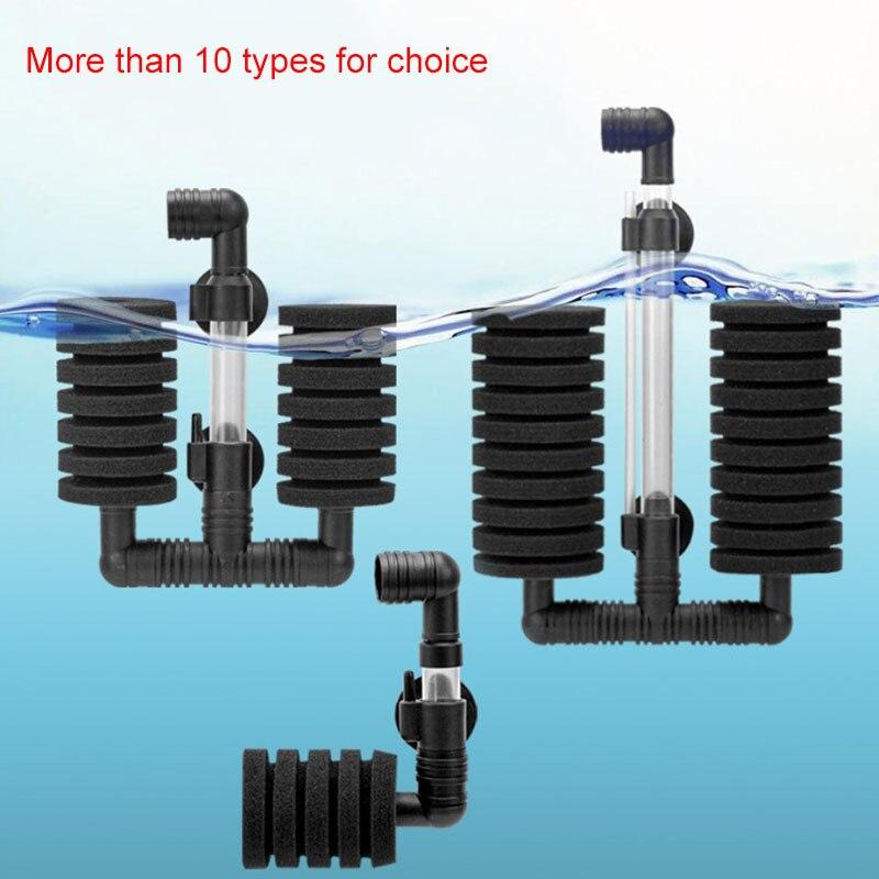 Аквариумный фильтр для аквариума, воздушный скиммер с насосом, Биохимический Губчатый Фильтр, аквариумный биофильтр Filtro Aquario, практичный Фильтры и аксессуары      АлиЭкспресс