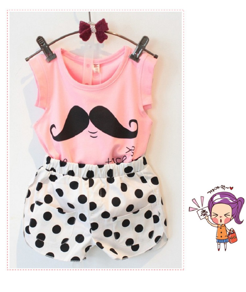 2017-Summer-Tsaujia-Brand-Baby-Girls-Clothing-Set-Sleeveless-T-shirtPolka-Dot-Pant-2pcs-Kids-Cotton-Clothes-Set-2-8-Years-KF064-5