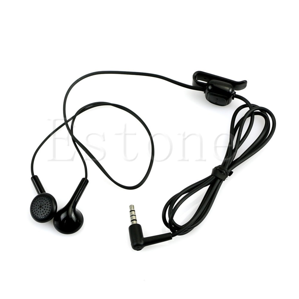 3.5mm Headset Earphone For Nokia WH-101 HS-105 2680 6500 E66 E71 Nova 5000 6220 7210 image