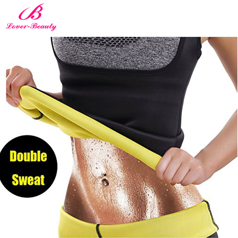 Lover Beauty Body Shapers Corset Neoprene Sweat Belt Slimming Waist Shaper Waist Trainer Corsets Slim Underwear Faja Body Shaper
