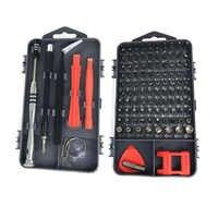 112 w 1 zestaw wkrętaków PC telefon komórkowy konserwacja naprawa zestaw narzędzi wkrętak magnetyczny Bit Torx urządzenie elektroniczne narzędzia ręczne