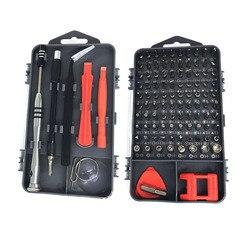 112 em 1 chave de fenda conjunto pc telefone celular manutenção kit ferramenta de reparo chave de fenda magnética torx dispositivo eletrônico ferramentas manuais